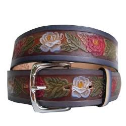 Cinturón decorado flor de repollo 40 mm
