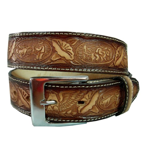 Engraved belt carnations 40 mm