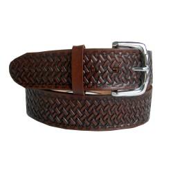 Belt engraved petatillo 40 mm