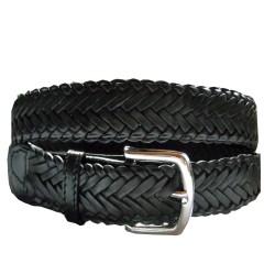 Belt woven 9 straps 35mm
